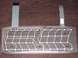 Keyboard membrane to ZX Spectrum