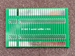 PCB ZX Spectrum Bus Expansion